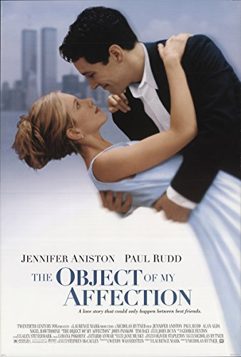 """The Remonstrate over of My Affection 1998 Authentic 27"""" x 41"""" Original Movie Poster Rolled Paul Rudd Drama U.S. One Surface Style A"""