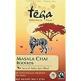 Tega Organic Tea Masala Chai Rooibos 18 Count