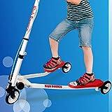 High Bounce Y Slicker 3 Wheel Wiggle Drift Scooter