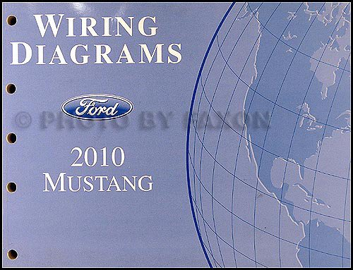 2010 Ford Mustang Wiring Diagram: Ford Motor Company: Amazon.com: BooksAmazon.com