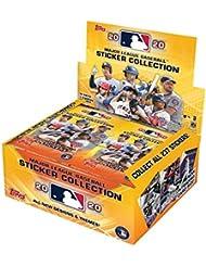 2020 Topps MLB Baseball Sticker Collection box (50 pks/bx, 200 total stickers)