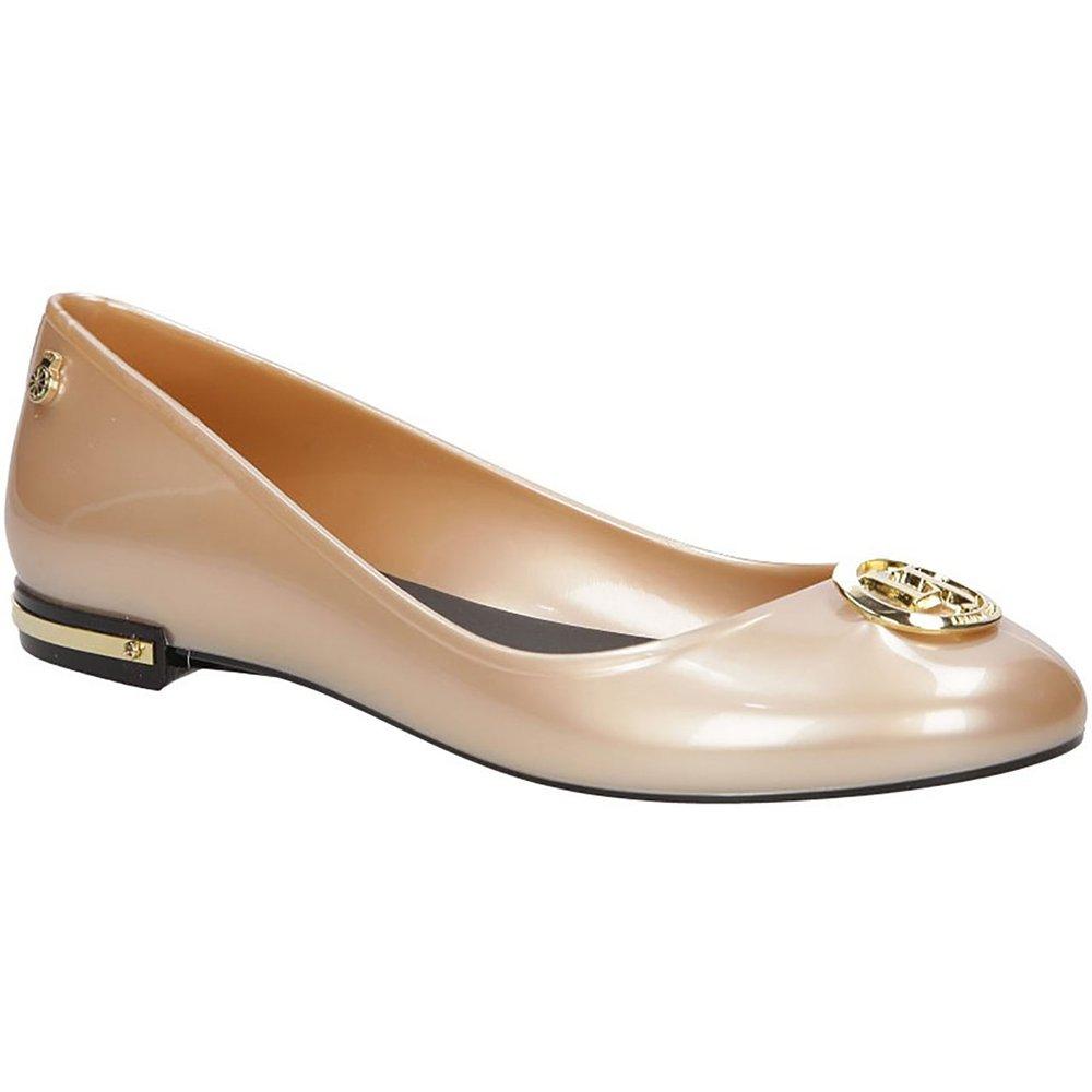 Lemon | Jelly Vitoria Damen Geschlossene Ballerinas | Lemon Casual Halbschuhe Bequeme Gold d6d640
