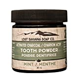 Activated Charcoal Mint Tooth Powder