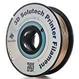 3D Solutech 1.75mm PLA 3D Printer Filament Real Gold 2.2 LBS (1.0KG) - MADE IN USA