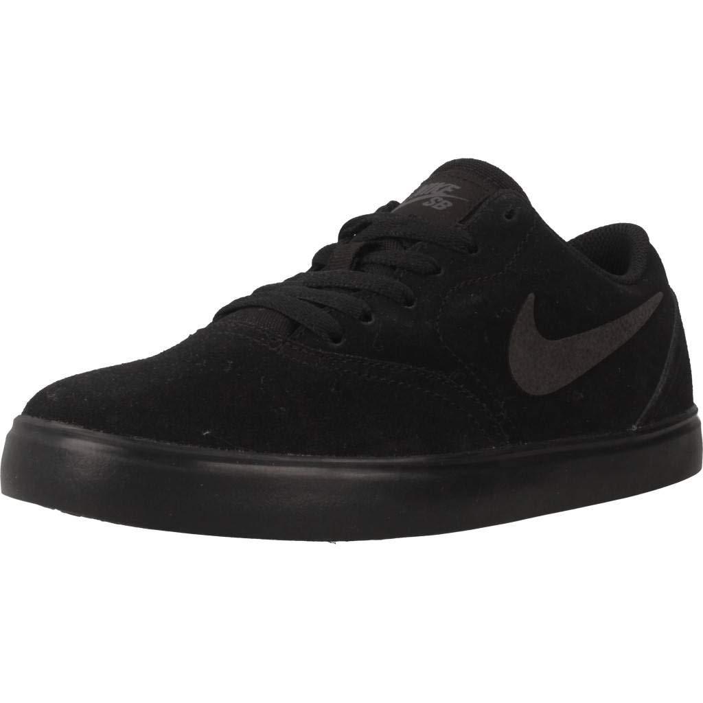 Nike SB Check Suede (GS), Zapatillas para Hombre 39 EU|Negro (Black/Black/Anthracite 001)