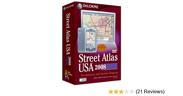 Streets and strip mapping software