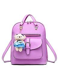 Hynbase Women Fashion Casual Cute Daypack Summer Schoolbag Backpacks Shoulder Bag