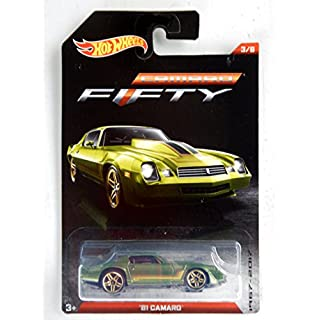 Hot Wheels Camaro Fifty '81 Camaro 3/8, Green