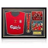 Steven Gerrard Signed Liverpool Champions League