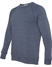 Mens 6.4 oz. Champ Fleece Crew (AA9575) -ECO True N -M