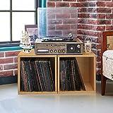 Way Basics Extra Large Cube Stackable LP Album