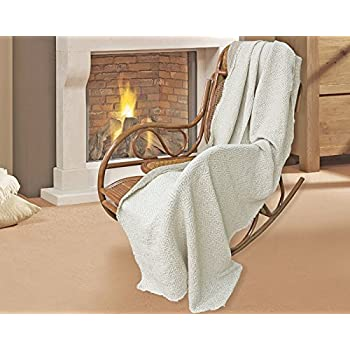 Amazon Com 100 Pure Flax Linen Blanket Home Amp Kitchen