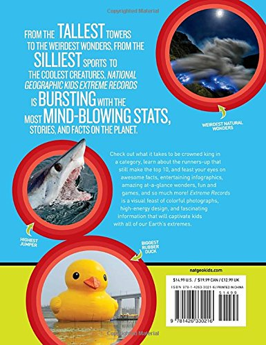 Bet You Didn't Know: Fascinating, Far-out, Fun-tastic Facts! (Fun Facts) National Geographic Kids