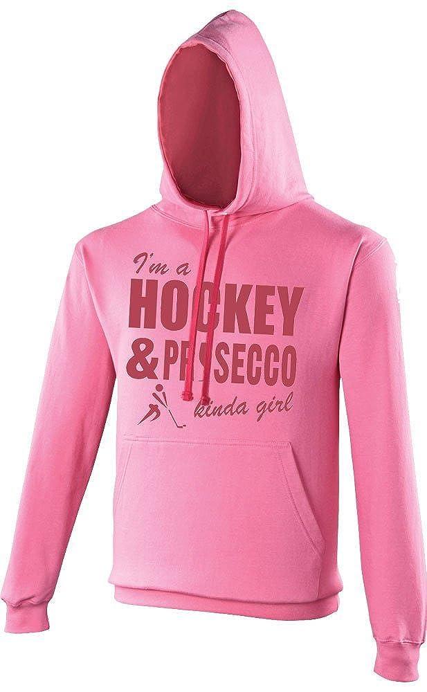 Hockey & Alkohol Alkohol Alkohol Kinda Girl Damen zweifarbig Hooded Top B016P4S4KC Damen Zuverlässige Leistung a2eb04