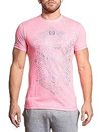 Men's Kempton Tee Shirt Neon Pink