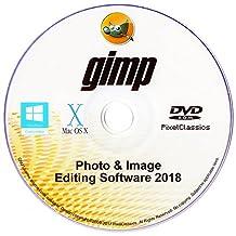 Photo Editing Software 2018 Photoshop CS5 CS6 Compatible Premium Image GIMP Editor for PC Windows 10 8.1 8 7 Vista XP 32 64 Bit & Mac OS X