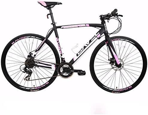 BAVEL Aluminum 21 Speed 700C Ultra Light Road Bike Racing Bicycle Shimano 48cm/51cm/54cm