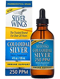 Dietary Mineral Supplement, Colloidal Silver, 250 PPM, 4 oz (113.4 g)