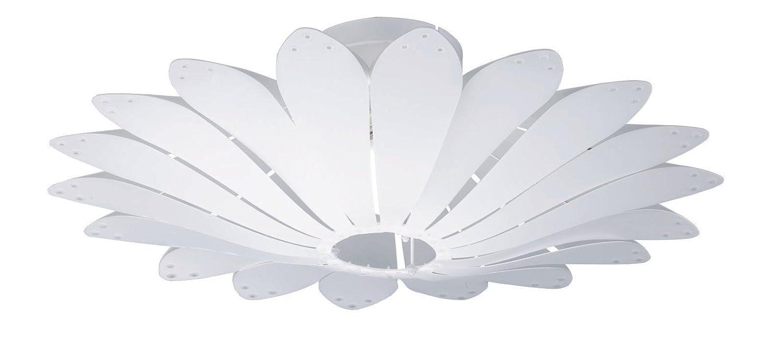 Reality Leuchten R60591001 Minka A++ to E, Deckenleuchte, Acryl, E27, Weiß, 65 x 65 x 22 cm