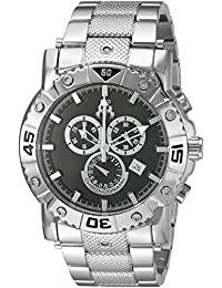 Jivago Men's 'Titan' Swiss Quartz Stainless Steel Casual Watch, Color:Silver-Toned (Model: JV9120XL)