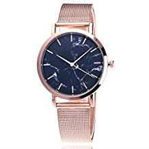 Paymenow Women Watches Wrist Watches for Women On Sale, 2018 Women Quartz Analog Round Case Stainless Steel Luxury Elegant Watches