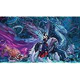 Artists of Magic Premium MTG Playmats: RIDE OF YOKAI with artwork by RUTH THOMPSON