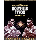 Tyson vs Holyfield 1991 Caesars Palace Boxing Poster 24x36