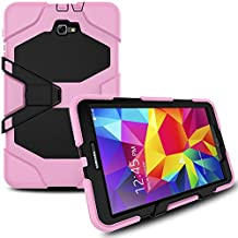 Galaxy Tab A 10.1 SM-T580 Case, Shockproof dust-proof hard armor Heavy Duty design with Kickstand Protective Case For Samsung Galaxy Tab A 10.1'' [SM-T580 / SM-T585] (Pink)