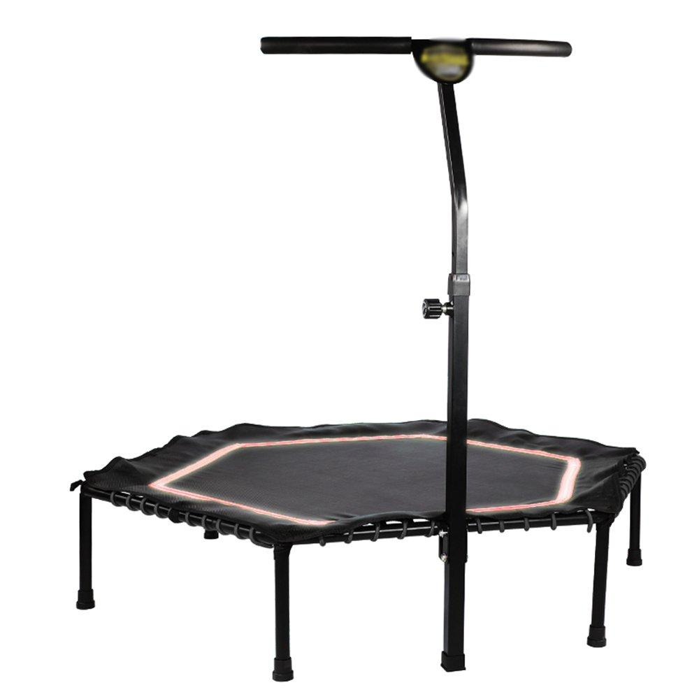Unbekannt Home Indoor Kinder Erwachsene Gym Trampolin 48-inch Gewicht-ROTuzierung Höhe Springen Bett