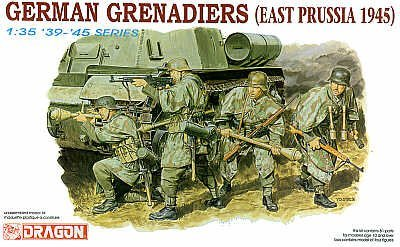 German Grenadiers East Prussia 1945 by Dragon Models USA