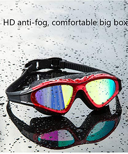 Unbekannt Schwimmbrillen - Weitblick-Schwimmbrillen mit Perfekter Nasenbrücke, bruchsicherer Anti-Fog-Linse - - - für Männer, Frauen, Erwachsene und Sie B07NSYC9LF Schwimmbrillen Jahresendverkauf bc3000