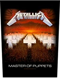 Metallica Master of Puppets Back Patch Black 29.5x36cm
