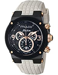 MULCO Unisex MW3-12140-115 Ilusion Analog Display Swiss Quartz Beige Watch