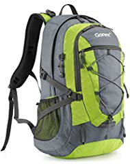 Gonex 40L Hiking Backpack, Camping Outdoor Trekking Daypack, Waterproof and Backpack Cover included