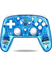 Wireless Controller for Nintendo Switch/Switch Pro/Lite, Switch Remote Control Gamepad with Adjustable Turbo/Dual Motors Vibration for Nintendo Switch Controller