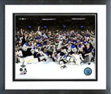 "St. Louis Blues 2019 Stanley Cup Champions Team Photo (Size: 12.5"" x 15.5"") Framed"