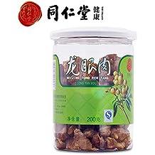 Tongrentang Fresh and Tender Dried Longan Meat Dried Fruit, Dragon Eyes Fruit, Long Yan Rou