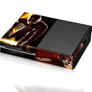 Controller Gear The Flash 3 Point Flash - Xbox One Console Skin - Officially Licensed by Xbox