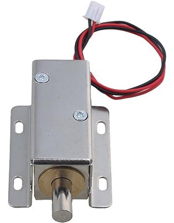 Yibuy DC24V - Cerradura eléctrica para Armario de Archivo, cajón, Puerta