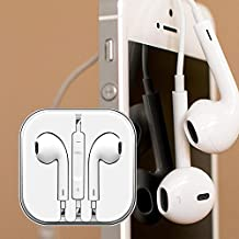 Apple phone's super bass Earphone/headphone 3.5mm Jack with Mic and Remote. For I phone 5,5S, 5 SE,6,6S, I Pad Air, I Pad Mini, I Pod Touch, All Samsung, Tablets, PC And Other Compatible Devices