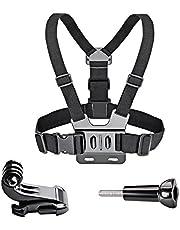 VVHOOY Adjustable Chest Mount Harness for Gopro Hero 7/6/5 Black Hero 4 Session AKASO EK7000 APEMAN FITFORT ODRVM Campark Crosstour Action Camera Accessories