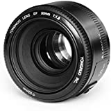 Yongnuo YN50mm 50mm F/1.8 1:1.8 Standard Prime Lens for Canon EOS Rebel Camera with WINGONEER Diffuser