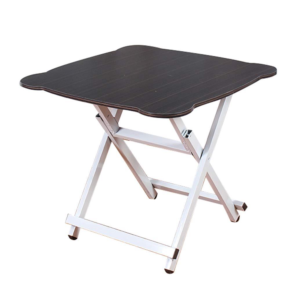 QRFDIAN Klappbare Plattformhalterung der faulen Tabelle des Laptop-Standplatz-Computertabletts im Freien bequem für Studenten (Farbe   SCHWARZ, größe   60  60  73cm)