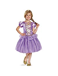 Disguise Costumes Rapunzel Classic Disney Princess Tangled Costume, Small/4-6X, One Color