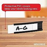 Minomag Magnetic Label Holders | Full Set of Slot