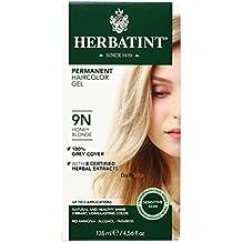 Herbatint 9N Permanent Herbal Honey Blonde Haircolor Gel Kit -- 3 per case.