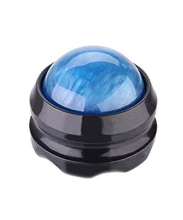 Anself Back Roller Massager Pain Relief Body Secrets Massage Roller Relax Ball (Blue)