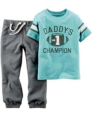 Carter's Baby Boys' 2 Piece Graphic Top Set (Baby)