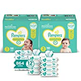 Pampers Baby Diapers and Wipes Starter