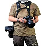 Dual-shoulder Camera Neck Strap for Canon Nikon Olympus Pentax Panasonic Sony DSLR
